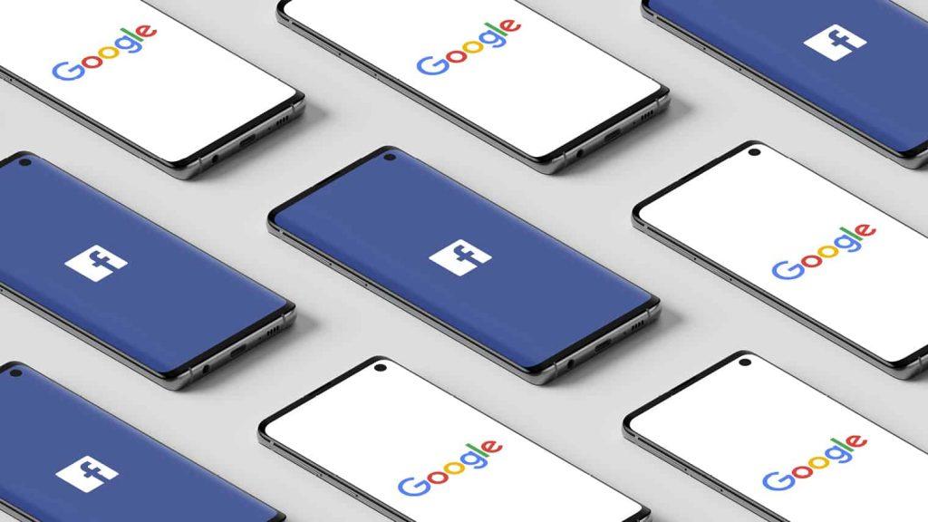 Facebook和Google
