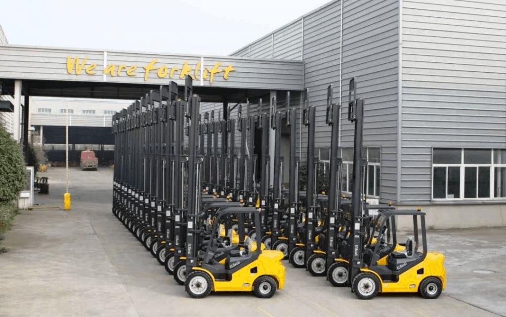 叉车厂家通过该平台实现了对韩国、孟加拉国、墨西哥等38个国家的出口