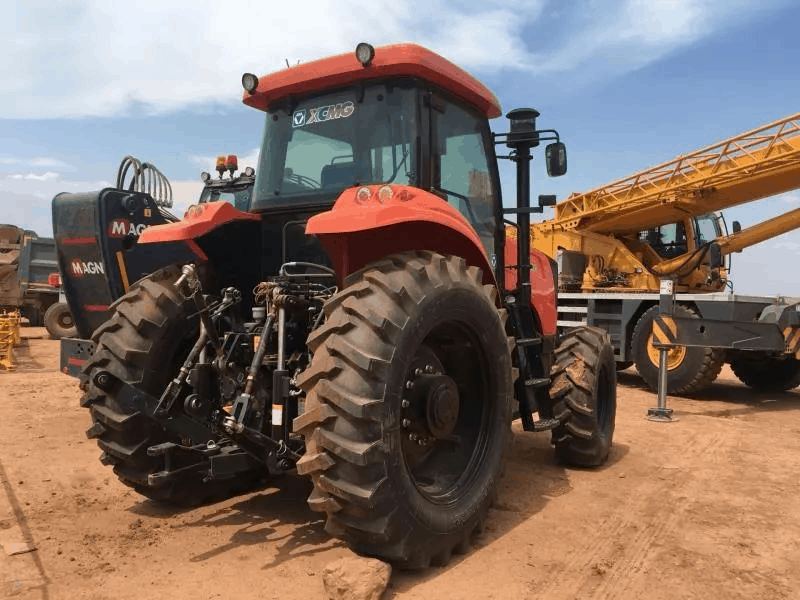 拖拉机制造商可以通过网络平台企业实现中国出口刚果金、乌兹别克斯坦、智利、阿根廷