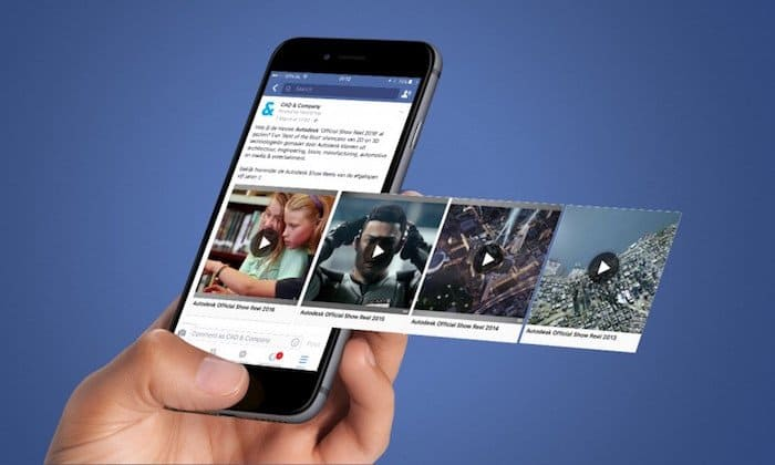 facebook 视频广告