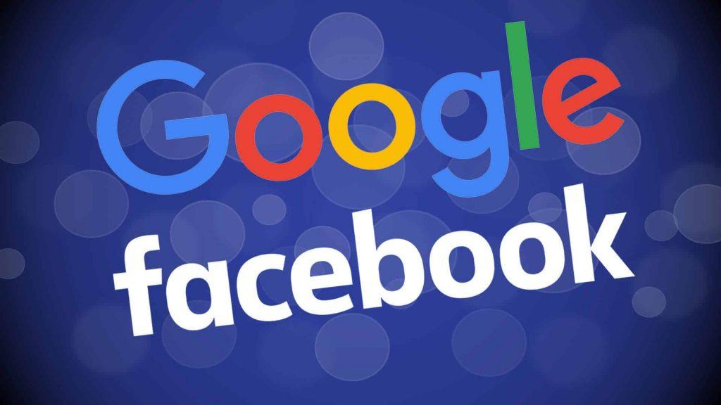 google or facebook