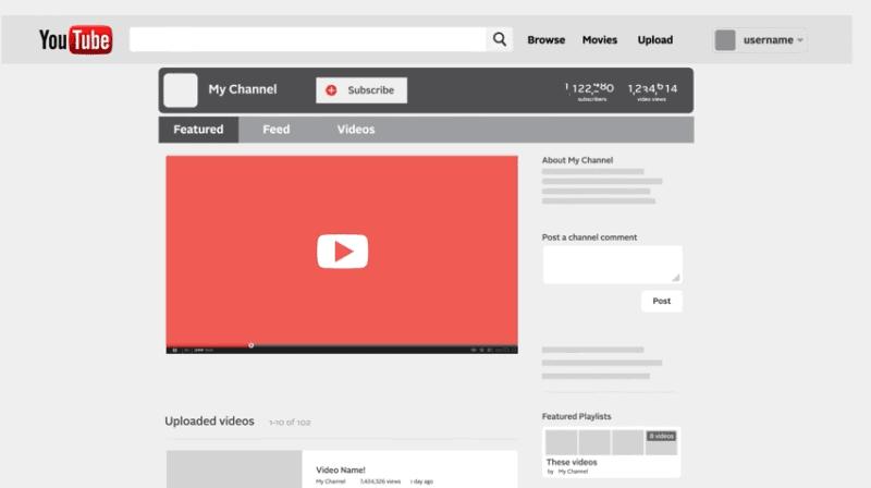 建立自己品牌的视频频道