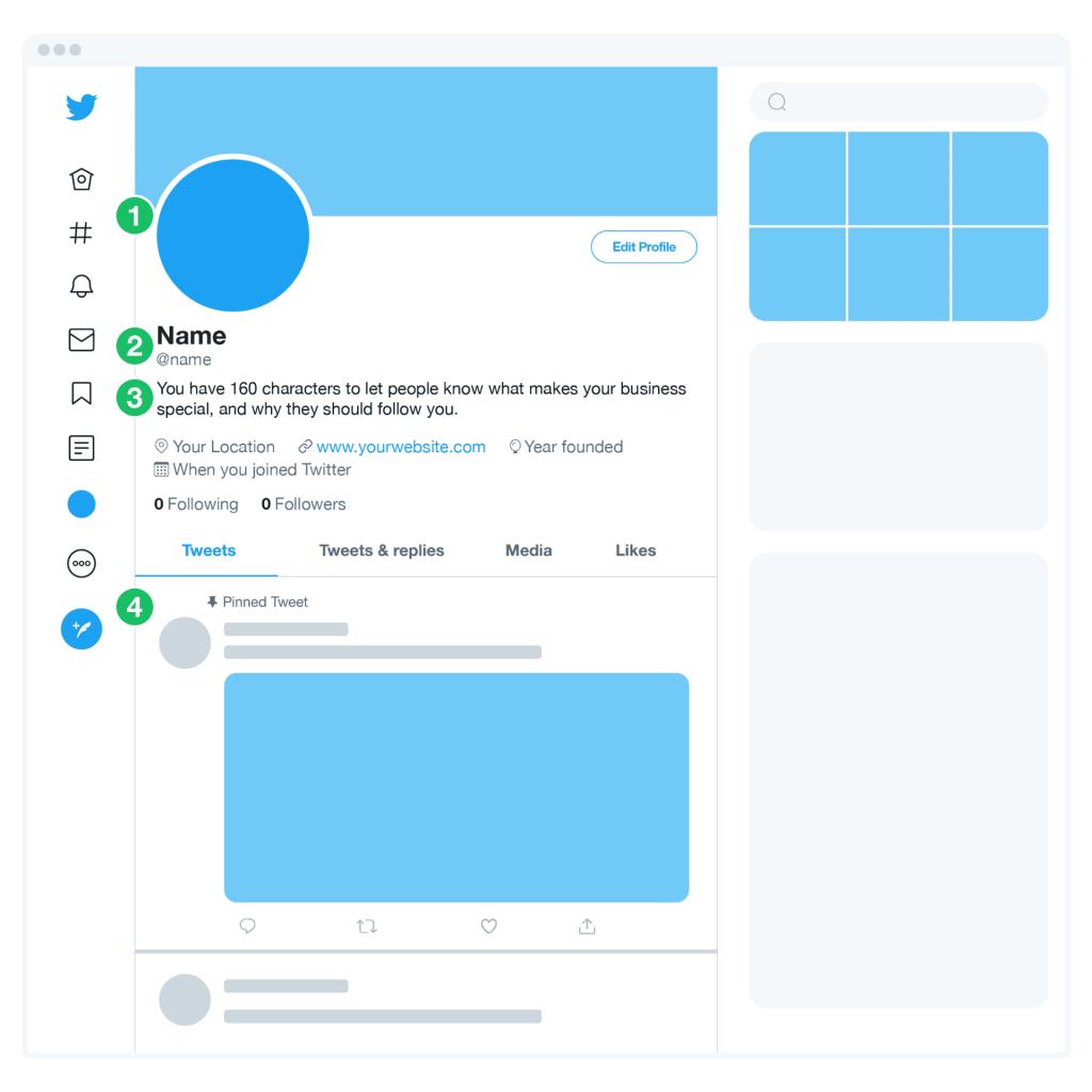 推特个人主页