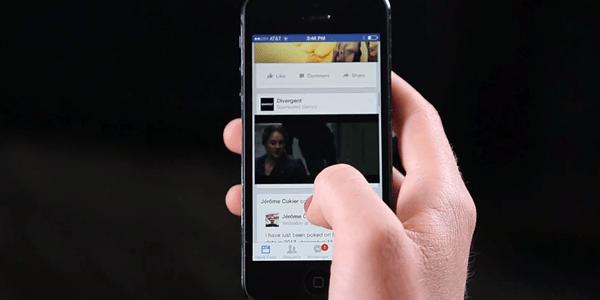 facebook 视频插播广告