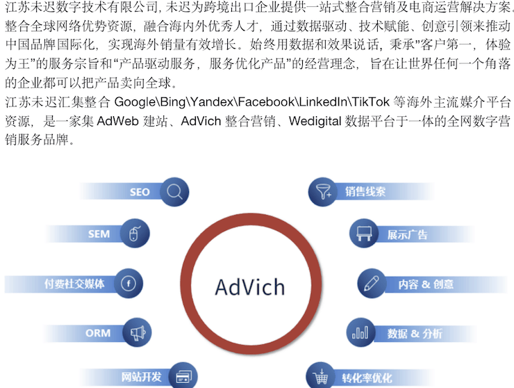 advich introduction